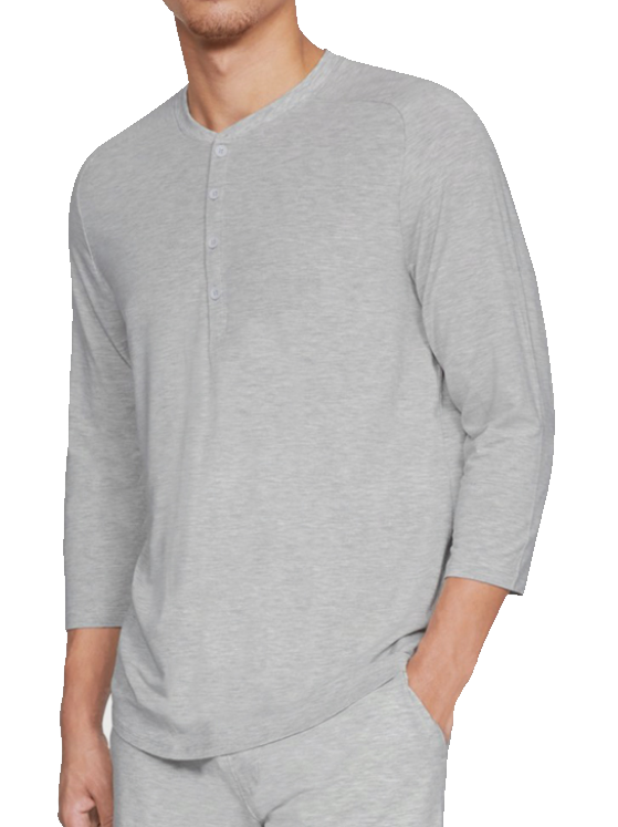 Camiseta de manga larga Under Armour Recovery Sleepwear Elite 3/4 Henley