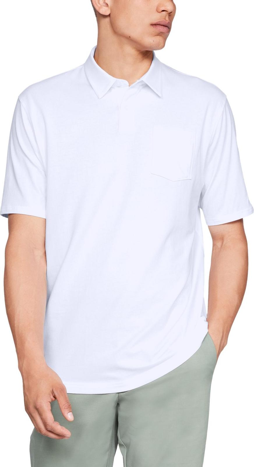 Camiseta Under Armour Charged Cotton Scramble Polo