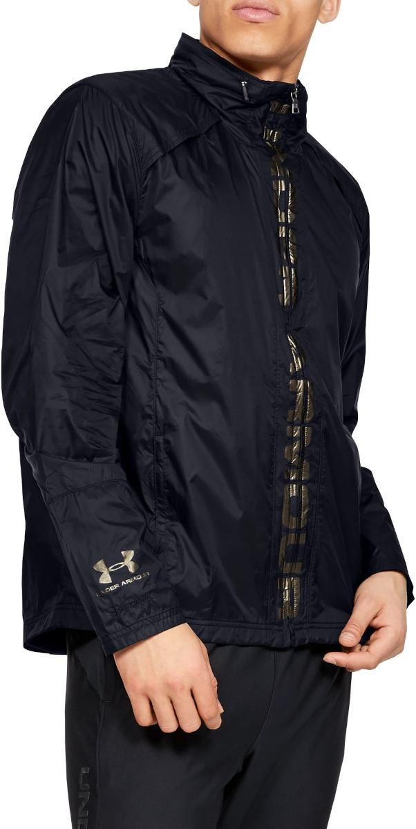 Chaqueta con capucha Under Armour Accelerate Pro Storm Shell-BLK