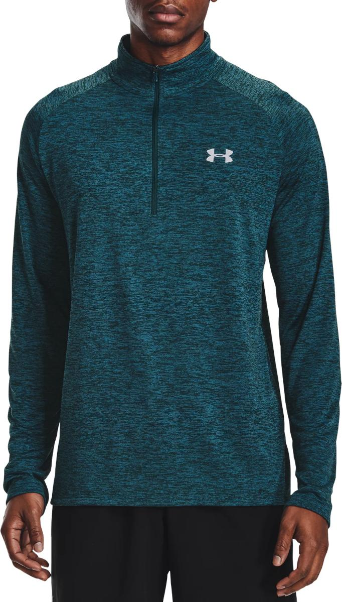 Camiseta de manga larga Under Armour UA Tech 2.0 1/2 Zip-BLU